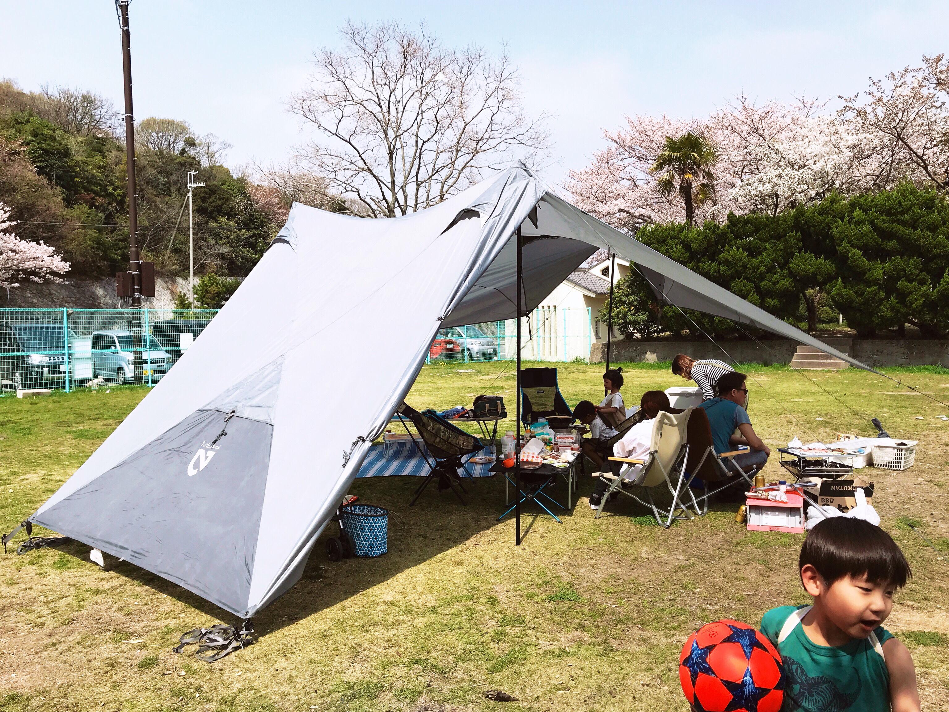 お花見Day Camp‼︎☆☆☆